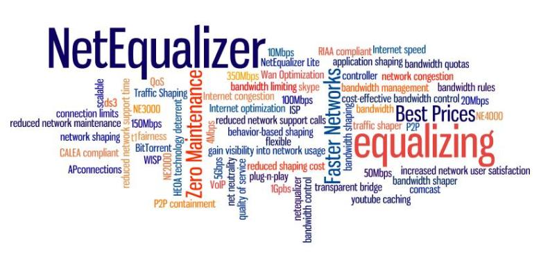 NetEqualizer Wordle