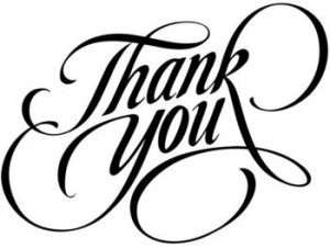 fancy thank-you